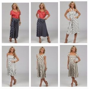 NEW. 8 way multi style dress or skirt.